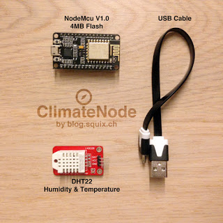 ESP8266 Projects: Internet Connected WeatherStation with beautiful